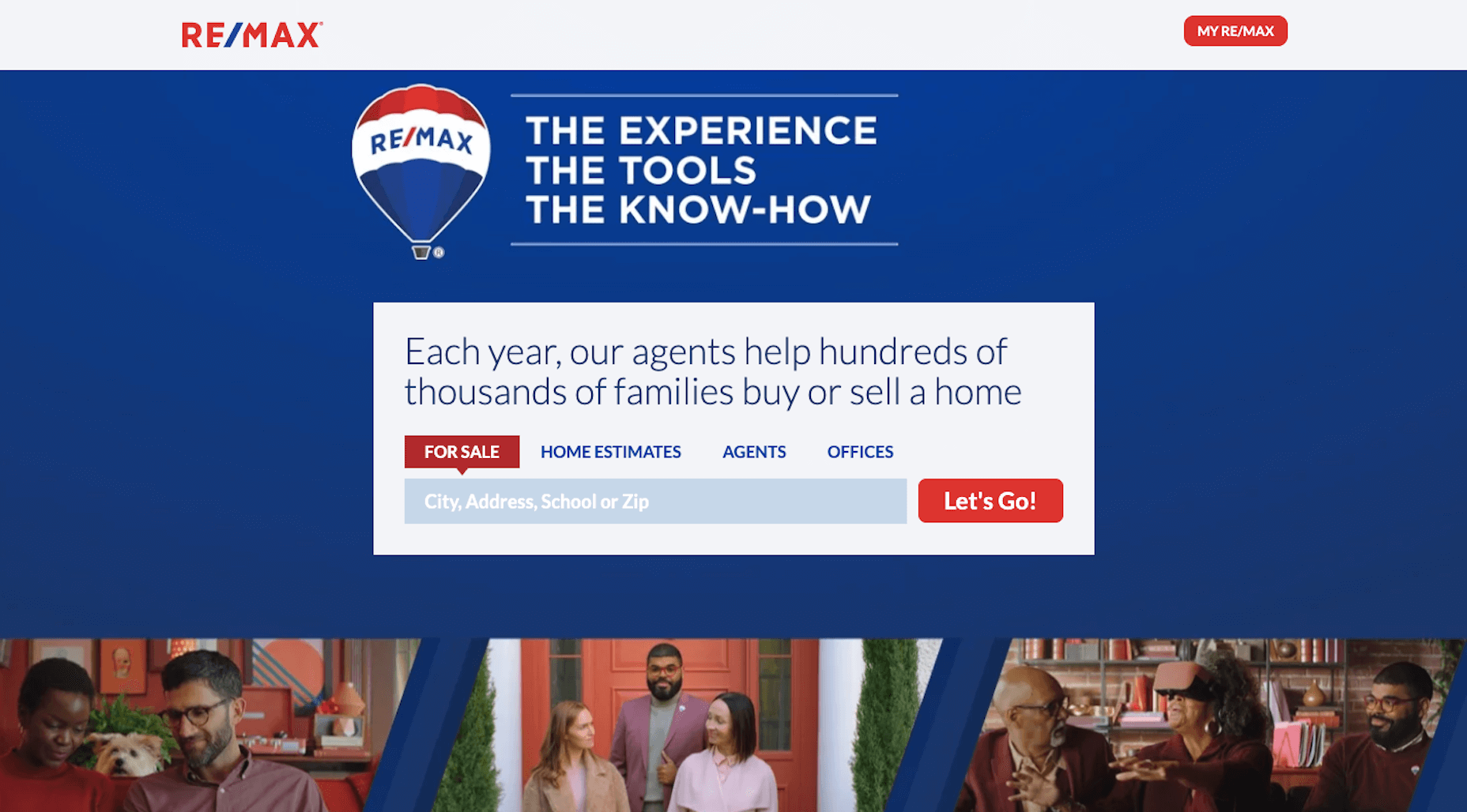 RE-MAX - Search Banner