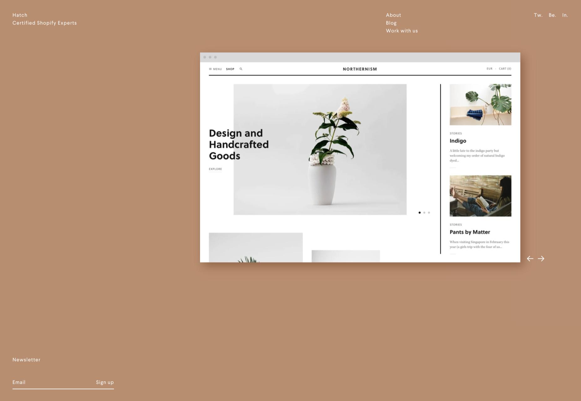 Минимализм в веб дизайне - отрицательное пространство