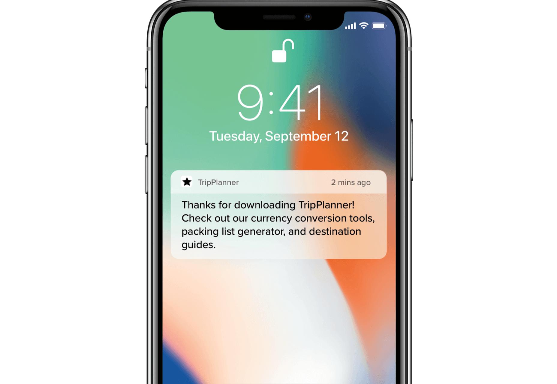 TripPlanner Notification