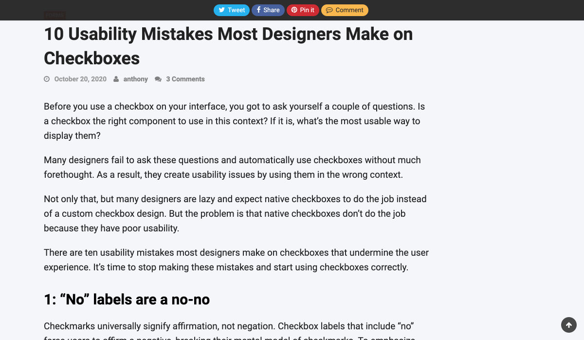 Image of checkboxes