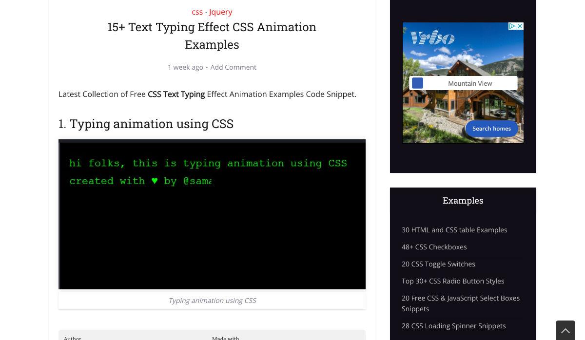 Image of typing