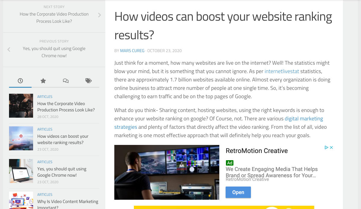 Image of videos