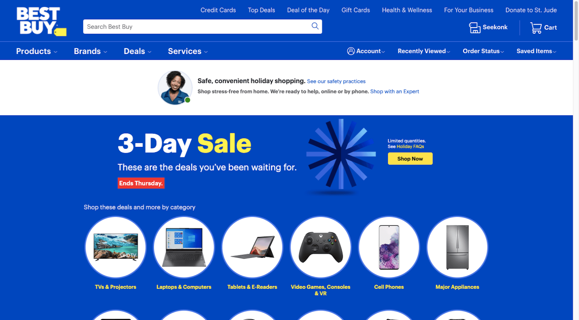 Best Buy invites customers to shop with an expert to make things go more smoothly