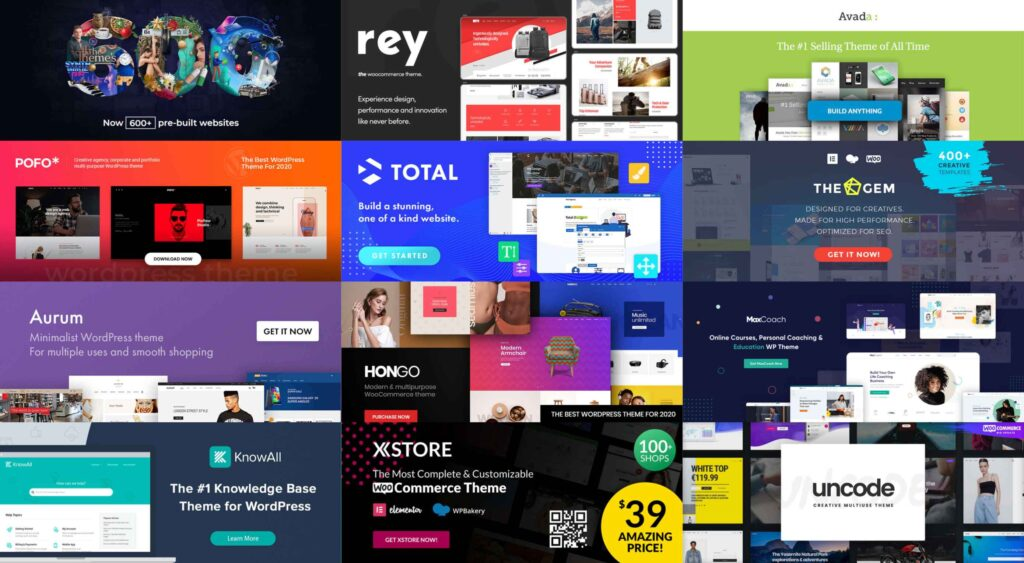12 Best WordPress Themes for 2021