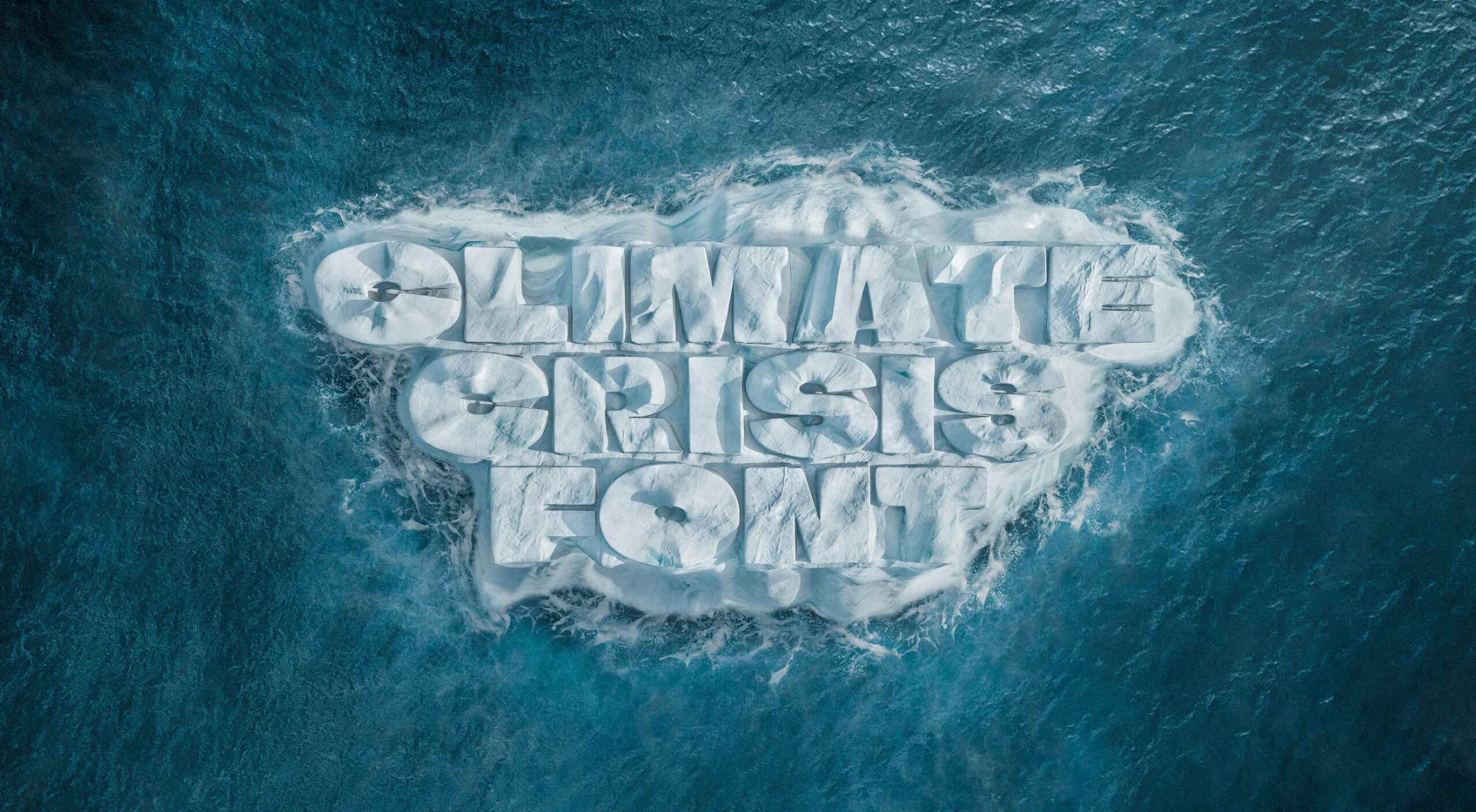 Variable Font Reveals The Full Horror of The Climate Crisis