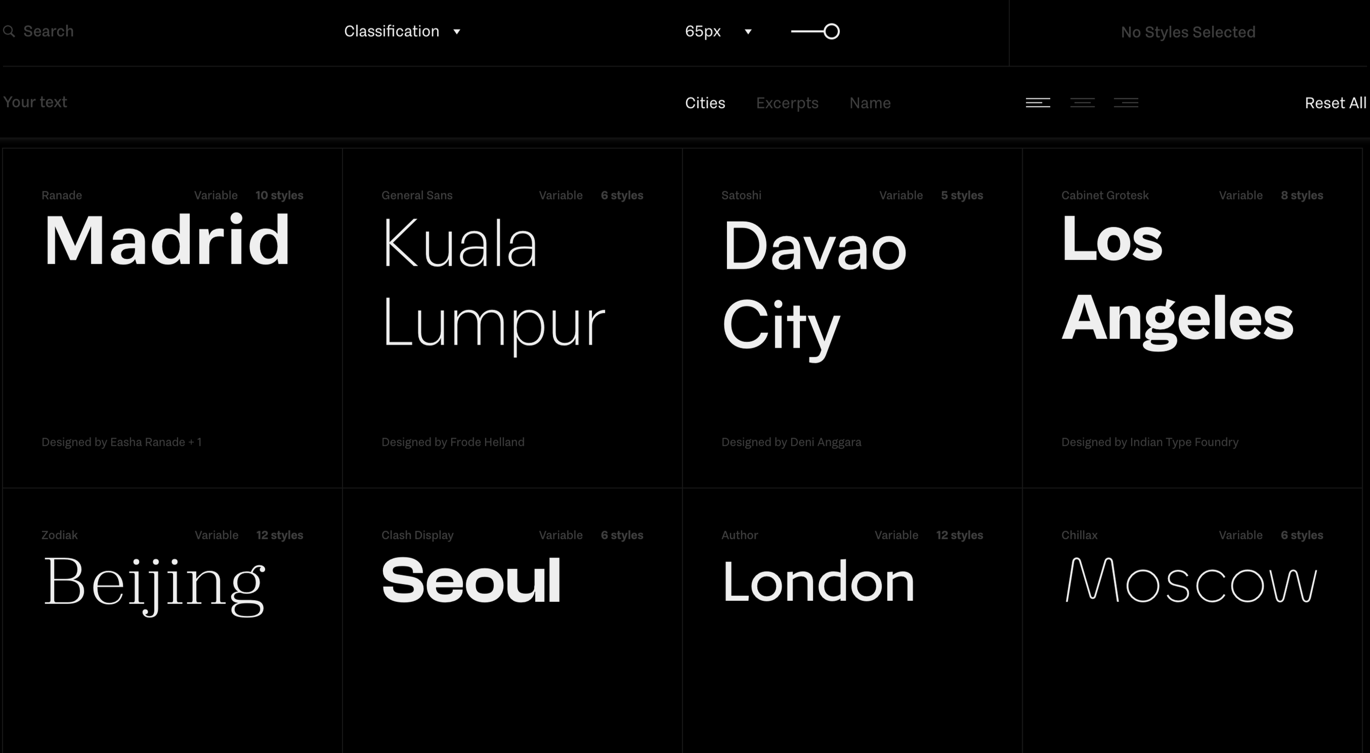 ITF Launches Free Font Service Fontshare