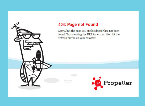 404 Pages - 50 Creative and Inspiring 404 Pages | Webdesigner Depot