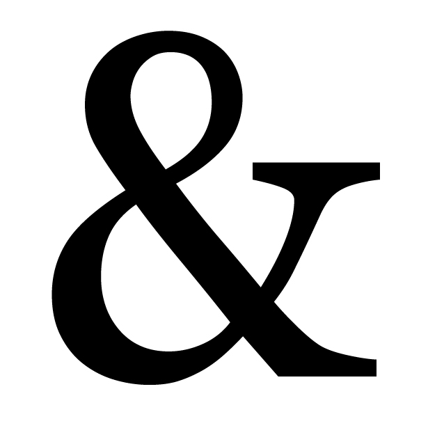 The History Of The Ampersand And Showcase Webdesigner Depot