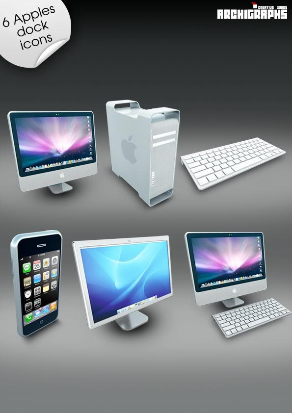 Apple Dock Icons
