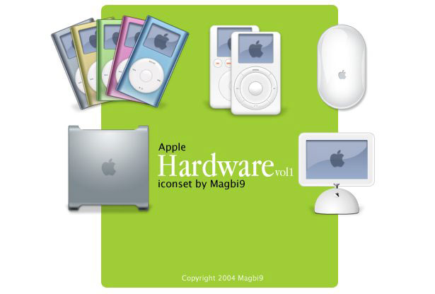 Apple Hardware Iconset