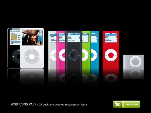 iPod Icons Pack