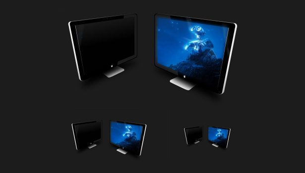 Apple Led Cinema Icons