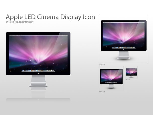 Apple LED Cinema Display Icon