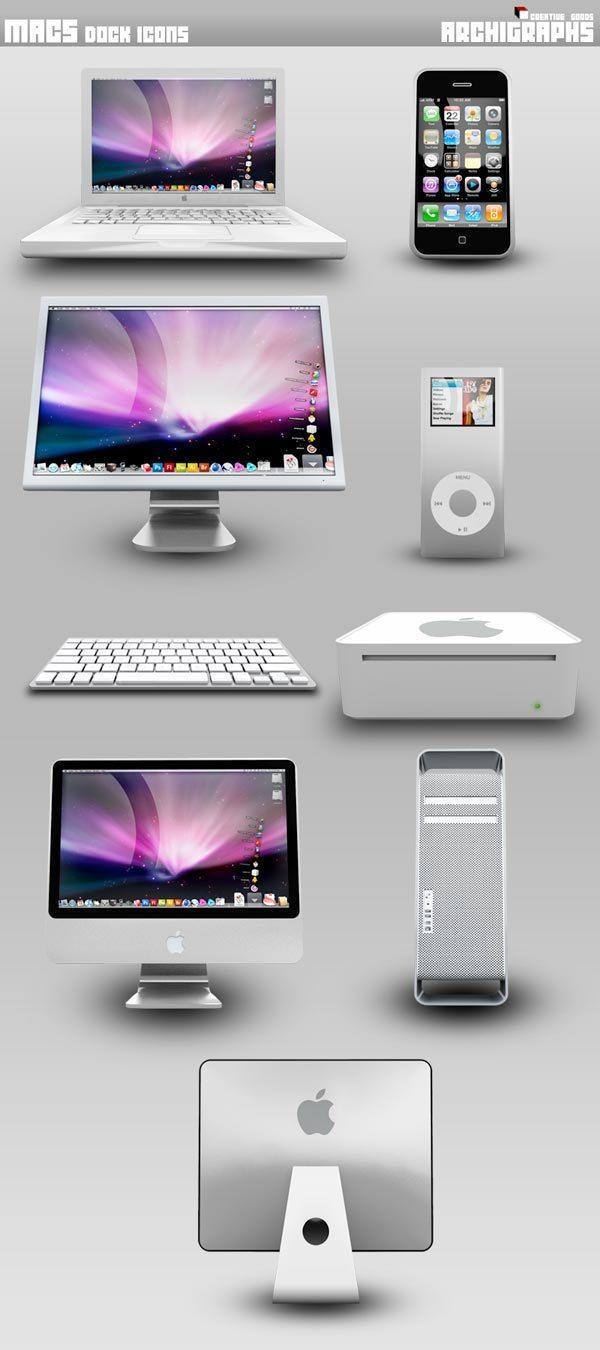 Macs Dock Icons
