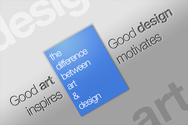 What Is Art And Design : The difference between art and design webdesigner depot