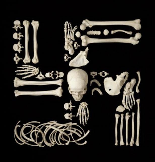 The Creepy Art Of Human Bones Webdesigner Depot