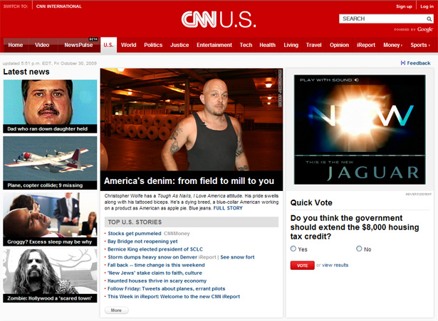 CNN.com category page