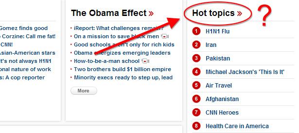 CNN.com Hot Topics
