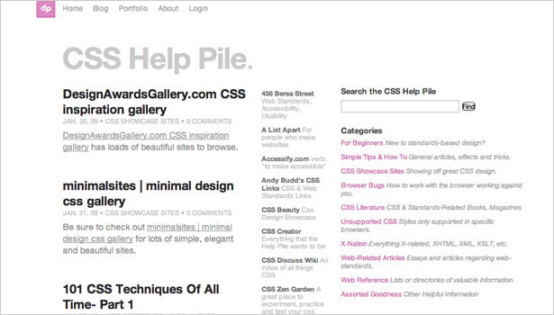 250 resources to help you become a css expert webdesigner depot css help pile a growing collection of css tutorials and resources malvernweather Images