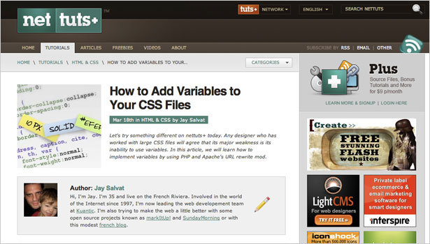 250+ Resources to Help You Become a CSS Expert | Webdesigner