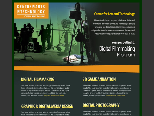 information technology newsletter template
