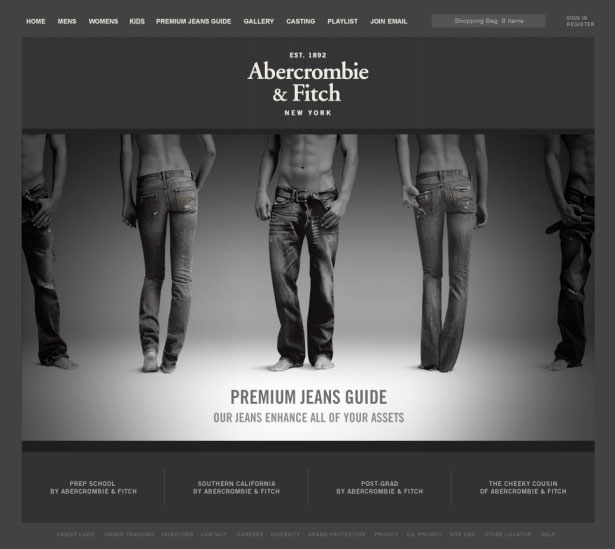 35 Inspirational Fashion Website Designs Webdesigner Depot