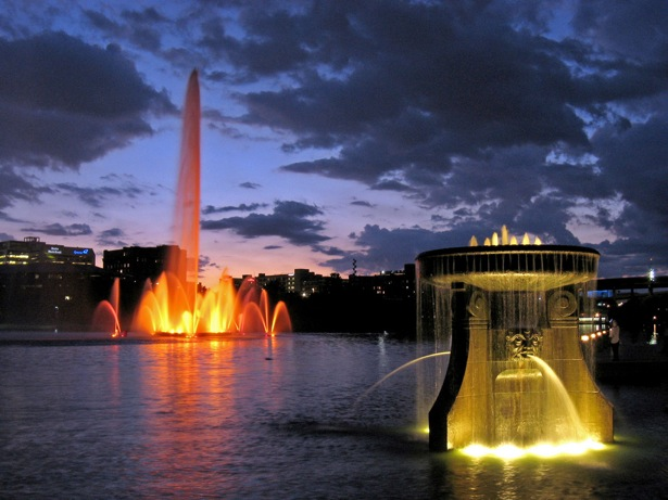 Spectacular Fountains From Around The World Webdesigner