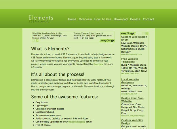 30 useful frameworks for designers webdesigner depot malvernweather Image collections