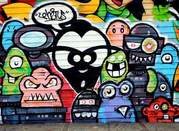 40 Striking Examples Of Graffiti Art