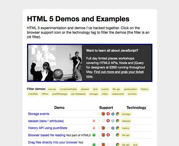 The ultimate HTML5 resource guide | Webdesigner Depot