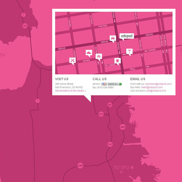 Site Map Design Examples: 30 Superb Examples Of Infographic Maps