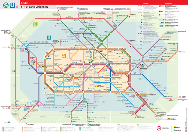Design Around the World: Metro Maps | Webdesigner Depot