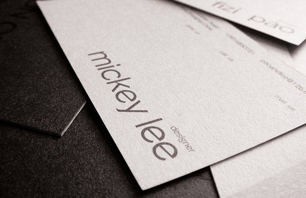 How to design the perfect business card webdesigner depot either a serif or sans serif font would work but opt for a bold condensed variation of whatever typeface you choose which will have a strong presence reheart Images