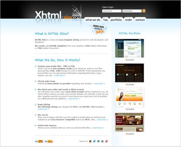 XHTML-Slice