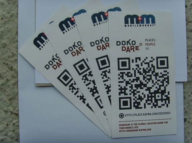 30 creative qr code business cards webdesigner depot part 28 kayma doko dare used the qr code reheart Gallery