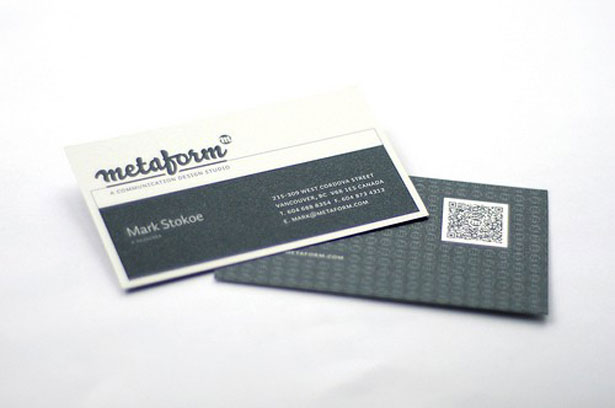 30 creative qr code business cards webdesigner depot metaform colourmoves