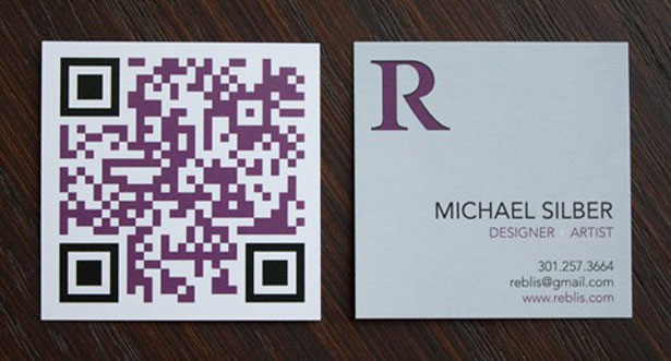 30 creative qr code business cards webdesigner depot reblis the qr code reheart Images