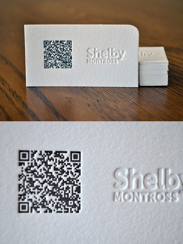 30 creative qr code business cards webdesigner depot shelby montross qr code letterpress colourmoves