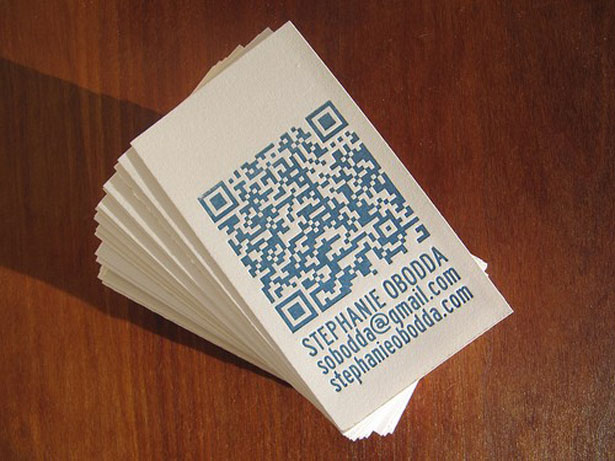 30 creative qr code business cards webdesigner depot stephanie obodda colourmoves
