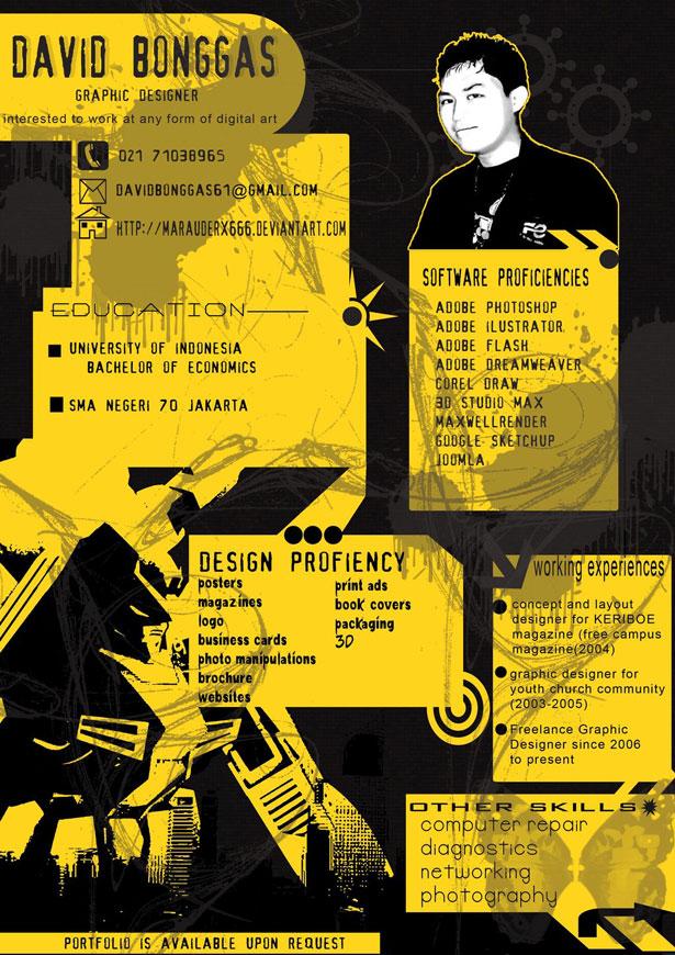 30 artistic and creative r u00e9sum u00e9s