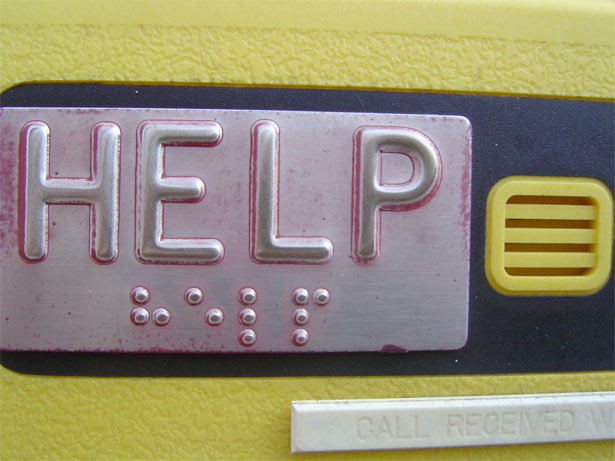 help sign with Braille