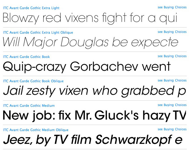 Free fonts and premium fonts used by designers | Webdesigner