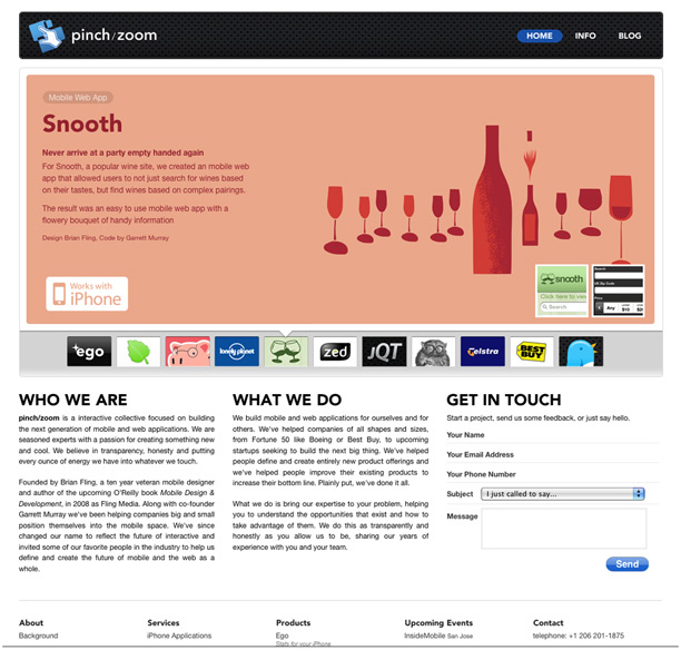 25 Examples Of Web 20 And Traditional Design Rules Coming Together