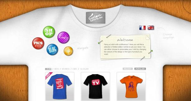 Custom Tshirts UK