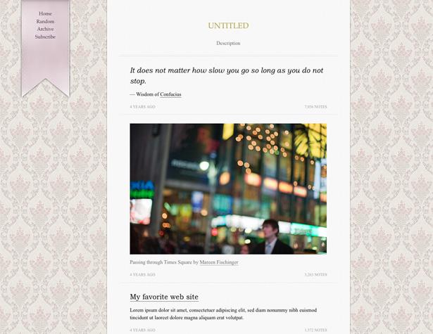 70 awesome tumblr themes webdesigner depot ernest maxwellsz