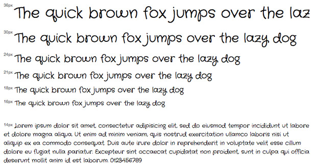 Crafty Girls Is A Handwriting Script Typeface Available Through The Google Web Fonts API Its Great Headline Or Display Font For Site That Wants