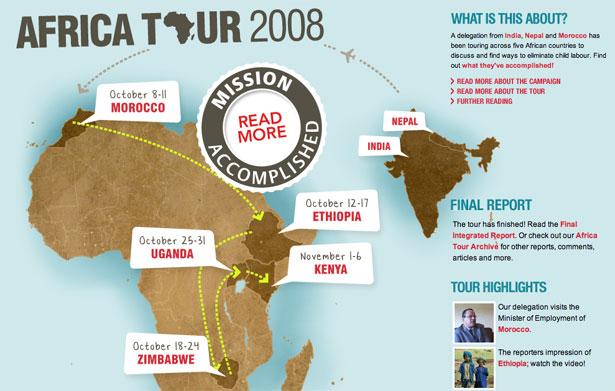 Africa Tour 2008