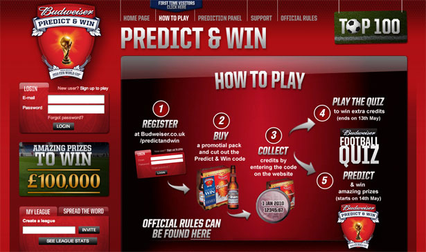 Budweiser Predict And Win