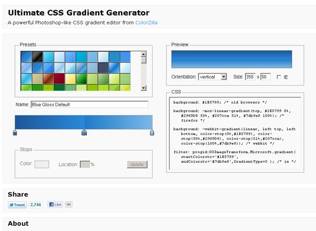 20+ Enhancing CSS3 tools and generators | Webdesigner Depot