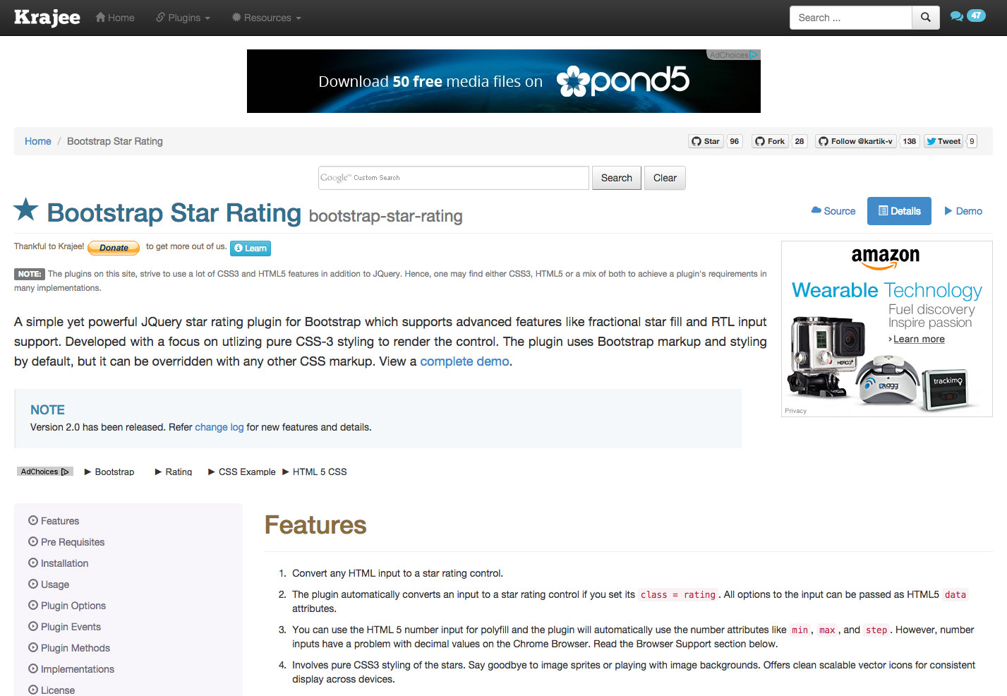 The ultimate guide to bootstrap webdesigner depot bootstrap star rating is a jquery star rating plugin that supports features like fractional fills and rtl input support falaconquin